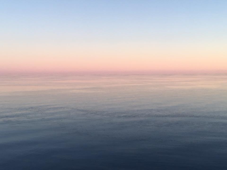 A George Morrison Horizon by Roxann Berglund.
