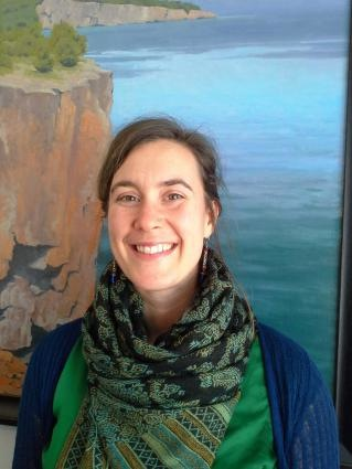 Amy Demmer is stepping down as executive director of the Grand Marais Art Colony.