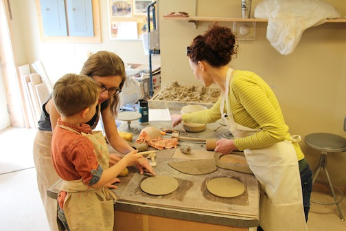 The Spring Make-A-Bowl for Empty Bowls will be April 13-15 this year. Participants will handbuild a bowl and throw a bowl on the pottery wheel. The bowls will be donated the Empty Bowl fundraiser later this fall.