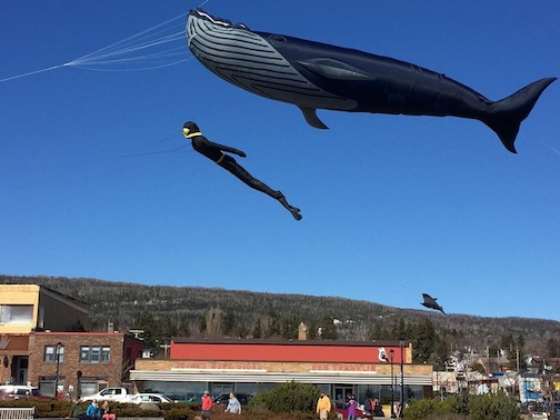 The Grand Marais Kite Festival is next weekend, weather permitting.