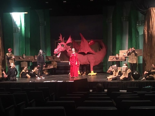 """Shrek The Musical Jr."" will be performed at the Arrowhead Center for the Arts this weekend."