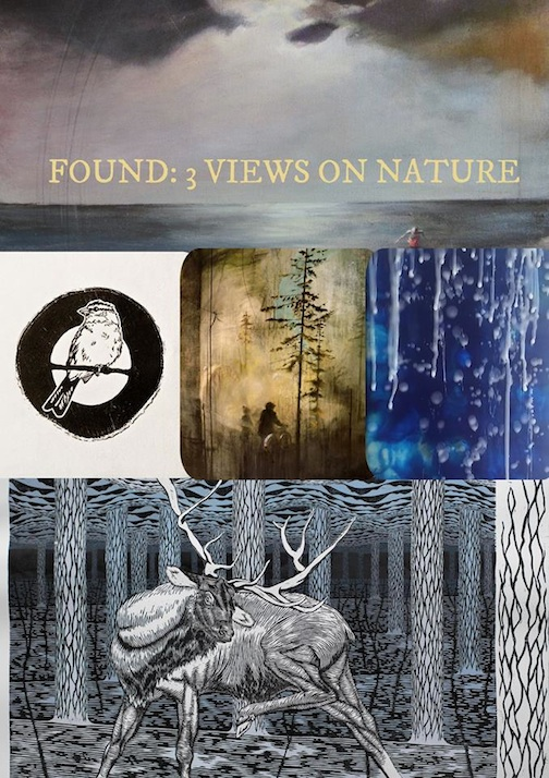 """Found: 3 Views of Nature"" opens at the Johnson Heritage Post on Friday."