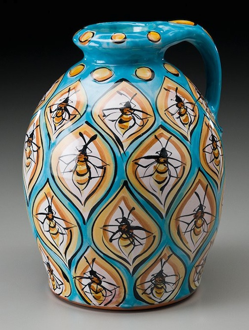 Karin Kraemer's bee pitcher.