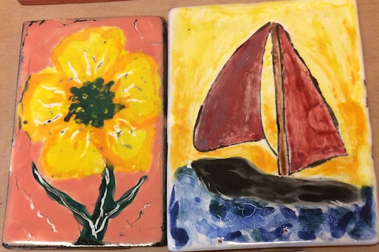 A Paint-A-Tile class will be held at the Grand Marais Art Colony on Friday, May 25, as part of their Block Party celebration over Memorial Day weekend. For more info, call the Art Colony at 387-2737.