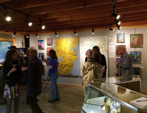 The Art of the Element gallery is located at 306 County Rd. 44.