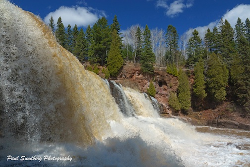 Gooseberry Falls by Paul Sundberg.