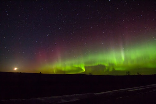 Northern Lights by Thomas Spence.