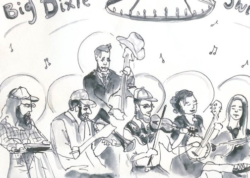 The Big Dixie Swingers will be at the Wunderbar June 9, hosted by the North Shore Music Association.
