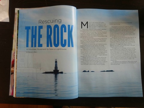 Bryan Hansel has an image in the latest issue of Lake  Superior Magazine.