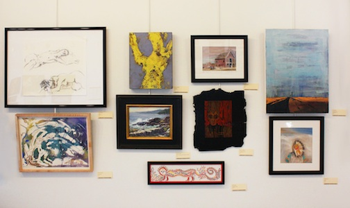 The Grand Marais Art Colony Members Show & Sale continues through May 6,
