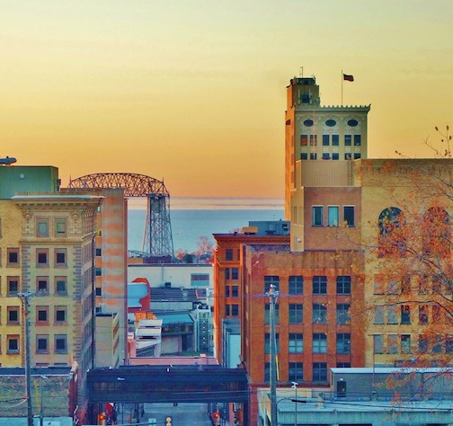 Cityscape: Those Building Blocks—Downtown Duluth by Jan Swart.