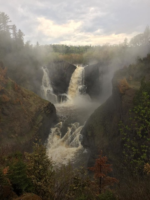 The High Falls at Grand Portage by Jolene Johnson.