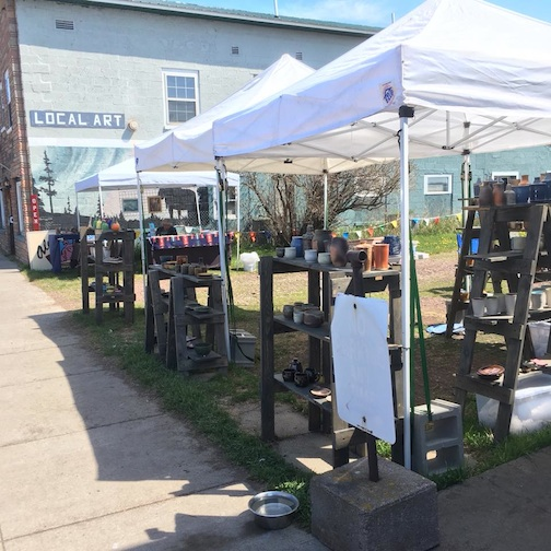 The Cook County Makers Cooperative has started a market between the Beaver House and