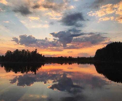 Sunset in isabella by Rachel Ewinski.