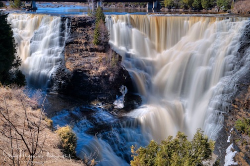Waterfall Season! Shanne Mossman took this great shot of Kakbeka Falls near Thunder Bay the other day. Enjoy!