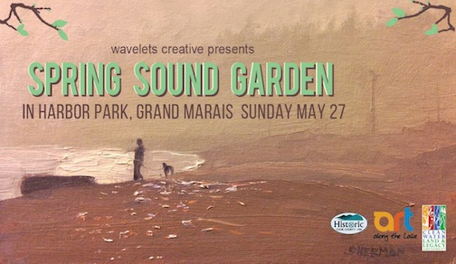 The Spring Sound Garden in Harbor Park will be from noon to 5 p.m. on Sunday.