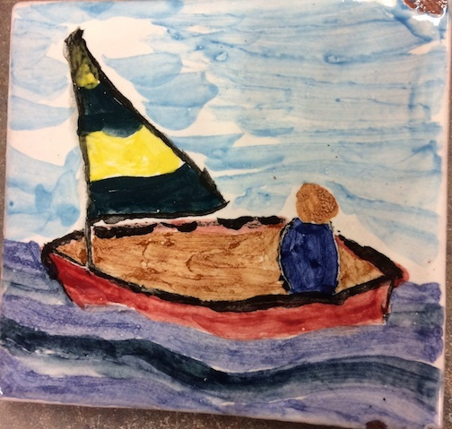 A Paint-A-Tile class will be held at the Grand Marais Art Colony from 1-2:30 p.m. on Friday, June 1.