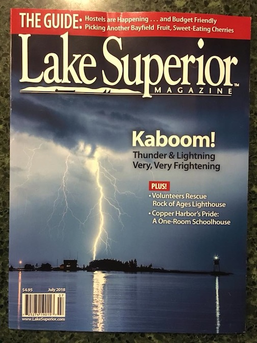 travis cover of lake superior magazine