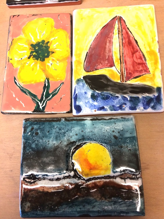 A Pint-A-Tile workshop will be held at the Grand Marais Art Colony from 1-2:30 p.m. on Friday.