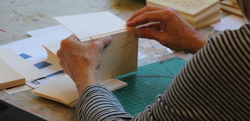 Book Arts Weekend will be held at the Grand Marais Art Colony July 5-7, including a tour of a bookbinding studio in Cook County.