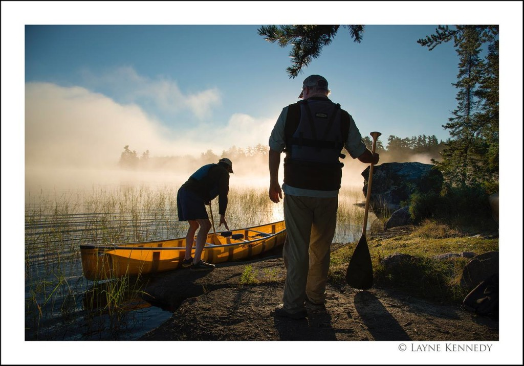 Chasing First Light in the BWCA by Layne Kennedy.