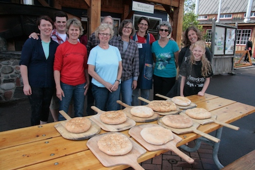 Students in a Try-it Wood Fired Baking class at North House Folk School. Two sessions will be held Thursday, from 1-3 p.m. and from 4:30-6:30 p.m.