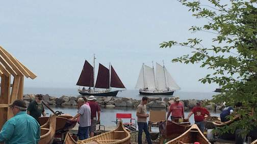 The Wooden Boat Show features a great variety of boats, and a chance to take a sail on the Hordes.