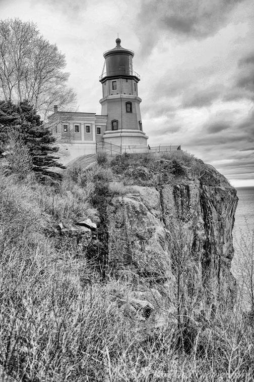 Split Rock Lighthouse by Scott Berglund.