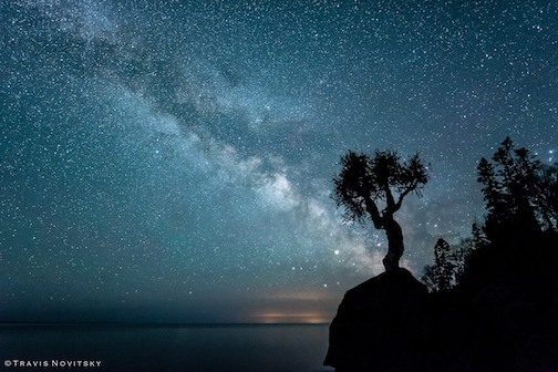 A glorious night sky makes the imagination run wild by Travis Novitsky.