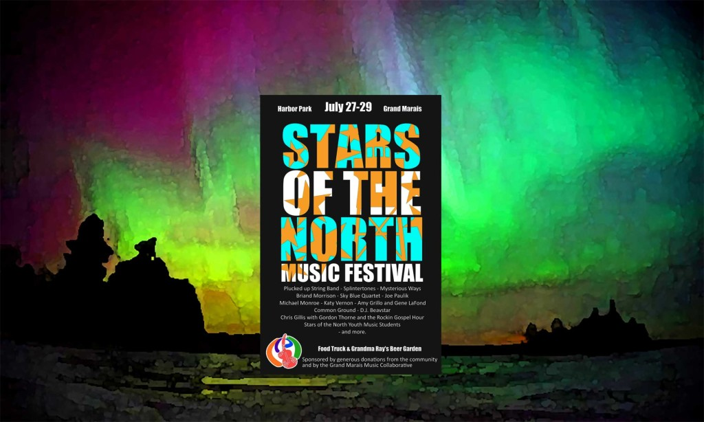 Stars of the North Music Festival will be in Harbor Park from Friday afternoon to Sunday with live music performances from a great selection of local musicians. See Music Schedule, below, for details.