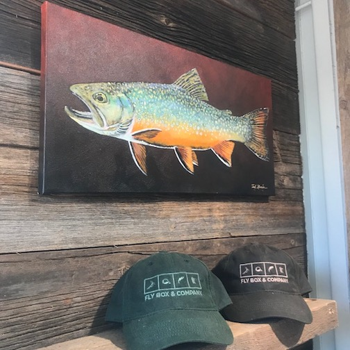 Shiny Brookie by Ted C. Hansen is at Fly Box & Co.