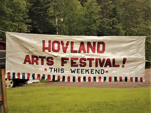 The Hovland Arts Festival is this weekend.