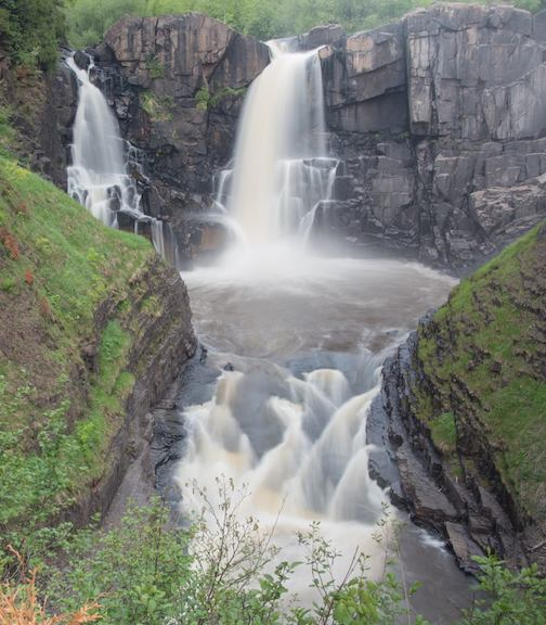 High Falls at Grand Portage by Mike Chrun.