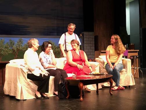"The Grand Marais Playhouse's production of  ""Mom's Gift"" opens at the ACA on Friday at 7 p.m."