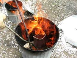 There will be a raku firing at the Maker's Market on Thursday.