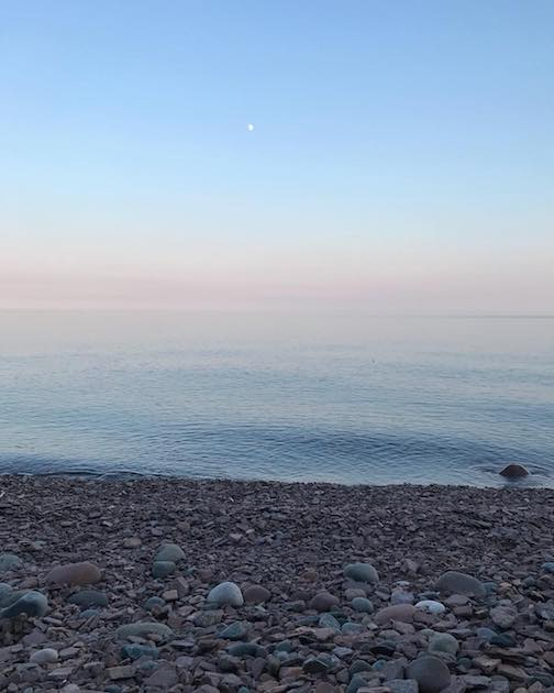 Lake Superior by Abby Tofte, the Big Lake.