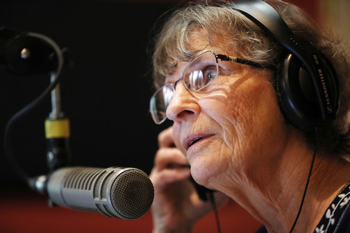 Marnie McMillan, one of the co-hosts for WTIP's morning show.
