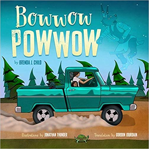 "Author Brenda Child and artist Jonathan Thunder will be at a Writer's Salon at Drury Lane Books on Saturday at 7 p.m. They collaborated on the children's book, ""Bowwow Powwow."""