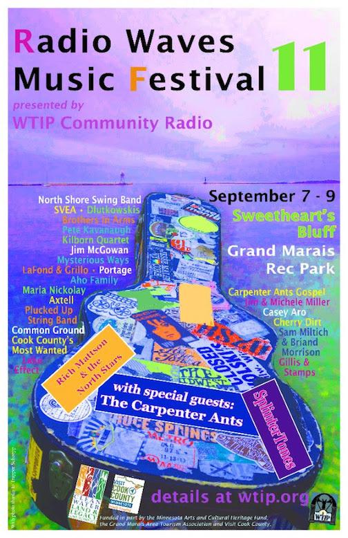 WTIP's Radio Waves Music Festival is looking for volunteers.