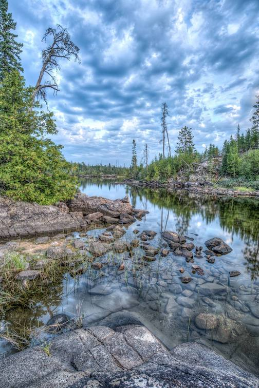 Boundary Water Canoe Area Wilderness by William Hurst.