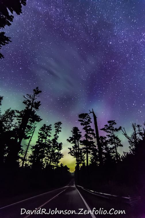 David johnson aurora and gunflint pines
