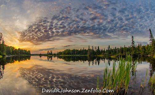 Early September Sunset by David Johnson.