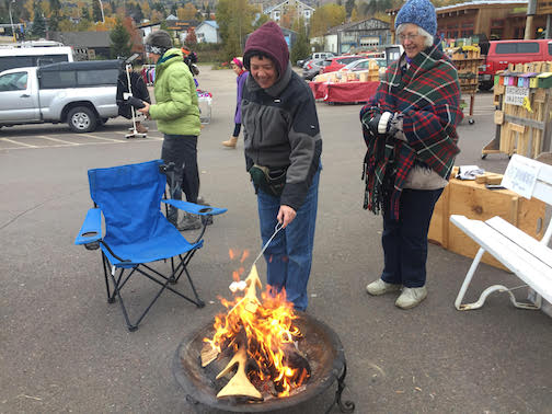 The Cook County Market is featuring a fire pit and a chance to make S'Mores on Saturday, the last market of the season.