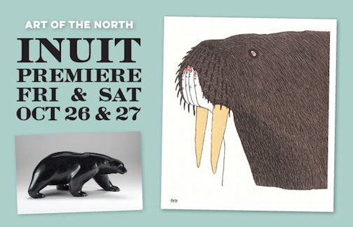 Sivertson Gallery's 18th annual Inuit Premiere is Oct. 26-27.