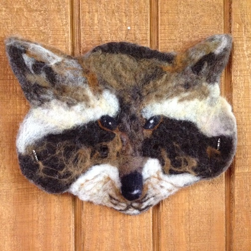 "Maryls Johnson will teach a class entitled ""Raccoon Mask Making"" at the Grand Marais Art Colony on Friday for students 8 and older."