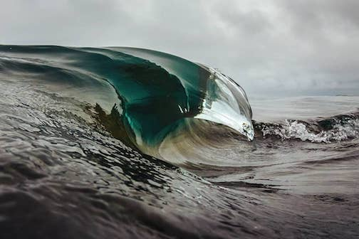 The amazing tricks water does by Christian Dalbec.