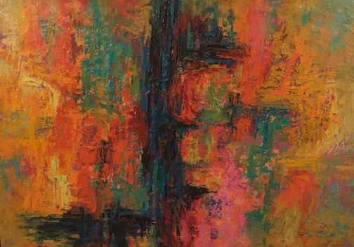 """""""Untitled,"""" by George Morrison. 1959."""