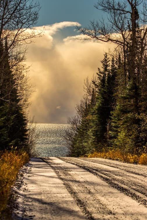 Lake Superior-- another view by Jeffrey Doty.