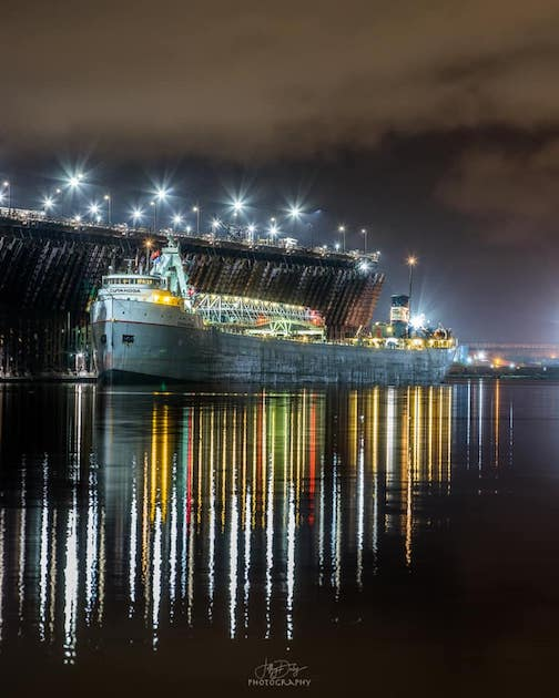 The Cuyahoga in Duluth by Jeffrey Doty.