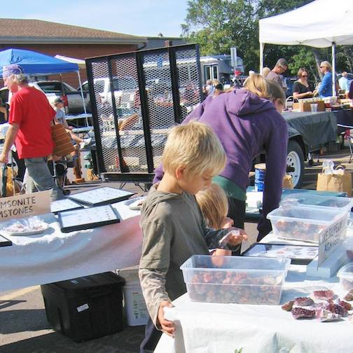 The Cook County Market is held from 9 a.m. to1 p.m. in the Senior Center parking lot. It continues every Saturday through MEA weekend, weather permitting.